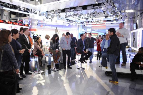 11/04/2012 CNN en Espanol CNNE Election Coverage Rehearsals ph: E. M. Pio Roda / CNN