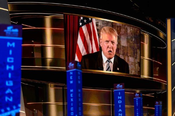 trump-at-convention-projection